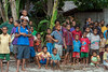 Village gathering, Dobu Island, D'Entrecasteaux Islands, PNG