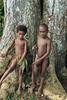Portrait of two boys-2, Nekar Village, Luganville, Espiritu Santo Is, Vanuatu