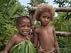 Boy and his sister, Nekar Village, Luganville, Espiritu Santo Is, Vanuatu