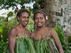 Portrait of two women-1, Nekar Village, Luganville, Espiritu Santo Is, Vanuatu