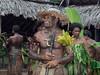 Portrait of a warrior, Nekar Village, Luganville, Espiritu Santo Is, Vanuatu