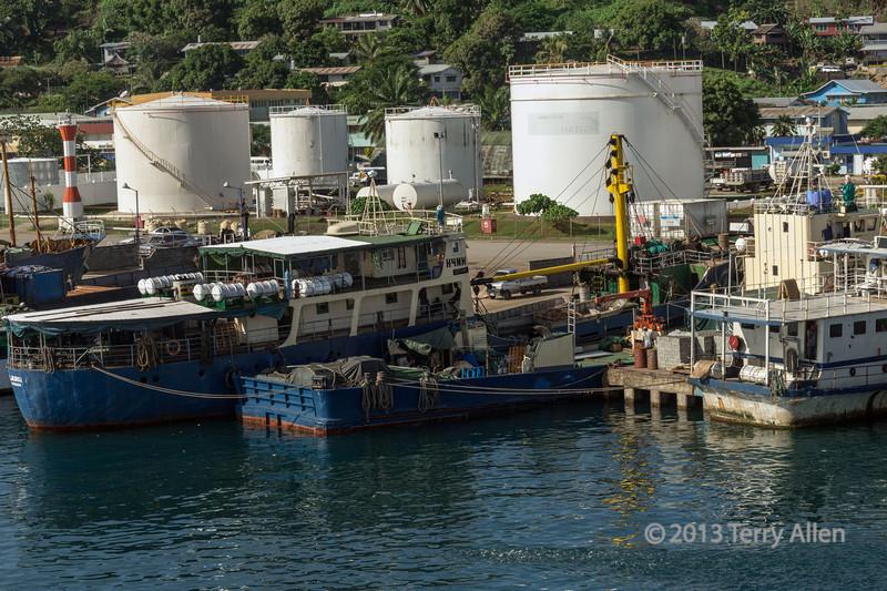 Local boats-3, Honiara harbour, Guadalcanal Is, Solomon Islands