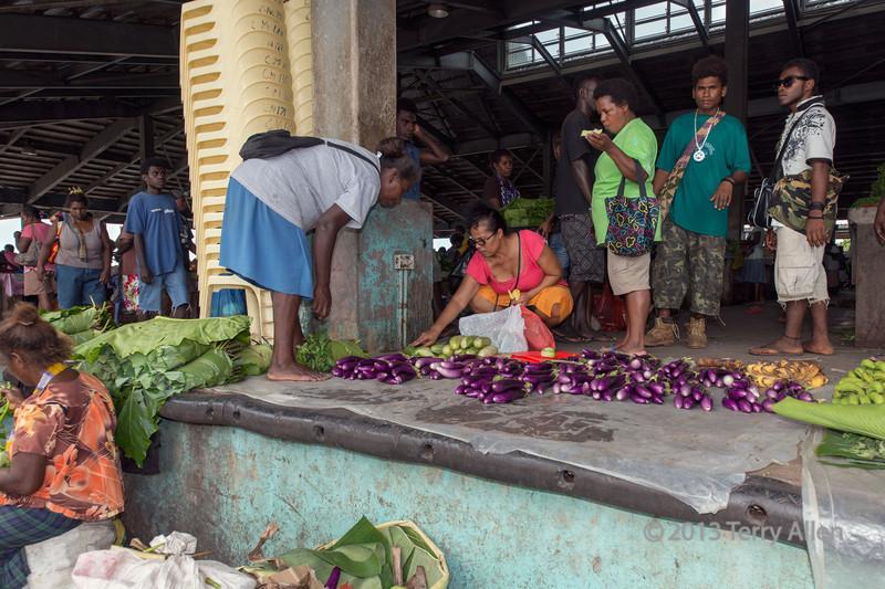 Honiara market-1, Guadalcanal Is, Solomon Islands