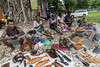 Artefacts market, Honiara, Guadalcanal Is, Solomon Islands