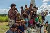 Islanders selling WWII artefacts-1, Bloody Ridge Memorial, Guadalcanal Is, Solomon Islands