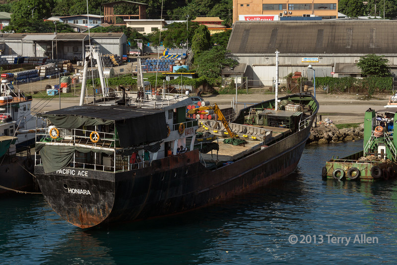 Local boats, Honiara harbour, Guadalcanal Is, Solomon Islands