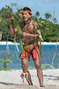 Young male dancer, Kitava Island, Trobriand Islands, PNG