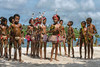 Young boy and girl dancers, Kitava Island, Trobriand Islands, PNG