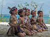 Young girl dancers, Kitava Island, Trobriand Islands, PNG