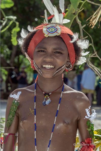 Portrait of a girl-4, Kitava Is, Trobriand Islands, PNG