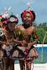 Portrait of a girl dancer, Kitava Island, Trobriand Islands, PNG