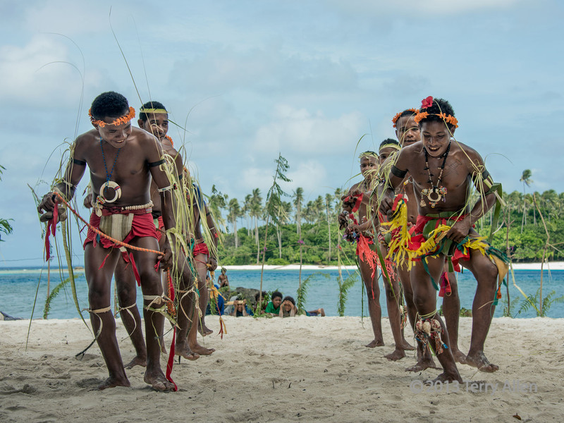 Young men dancers-4, Kitava Island, Trobriand Islands, PNG