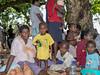 Family gathering, Pentecost Island, Vanuatu