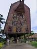Art Museum, Port Morseby, PNG<br /> <br /> The design is based on the haus tamburan (spirit houses) of the Sepik region.<br /> (monopod, 17 mm, 1/40 sec;   f/16;   ISO 160)