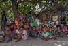Village children, Santa Ana Island, Solomon Islands