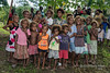 Group of children, Santa Ana Island, Solomon Islands