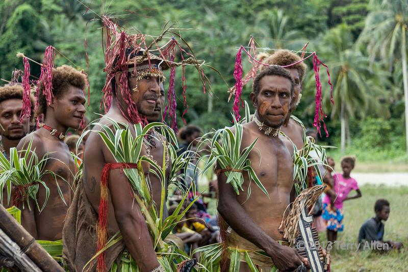"Musicians, Santa Ana Island, Solomon Islands<br /> <br /> The 3rd source of music in the Solomon Islands is slit drums (not shown);  listen here: <a href=""http://www.umbc.edu/eol/7/buencons/buencon3.mp3"">http://www.umbc.edu/eol/7/buencons/buencon3.mp3</a>"