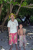 Father and son, Tikopia Island, Solomon Islands