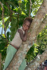 Portrait of a pensive young boy, Utupua Island, Solomon Islands