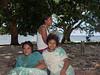 Three teenage girls, Utupua Is, Solomon Islands