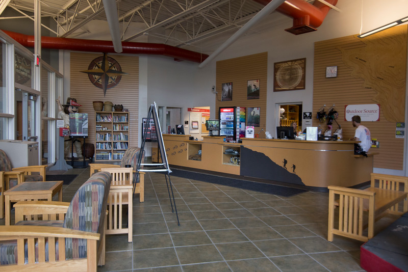 Adventure Recreation Center and Outdoor Activity Center Interior and Exterior