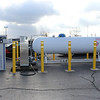 ROUSH CleanTech's onsite propane autogas refueling station.