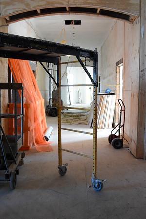 Seymour Hall renovation