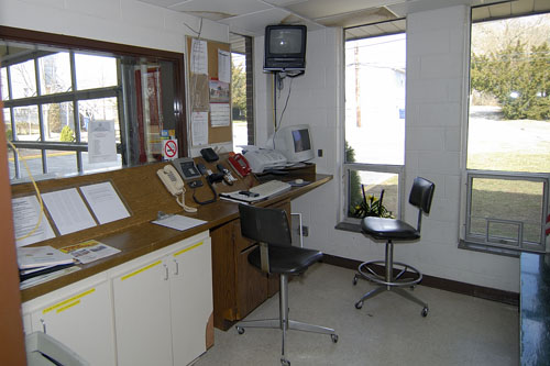 Communication room at main station 291.