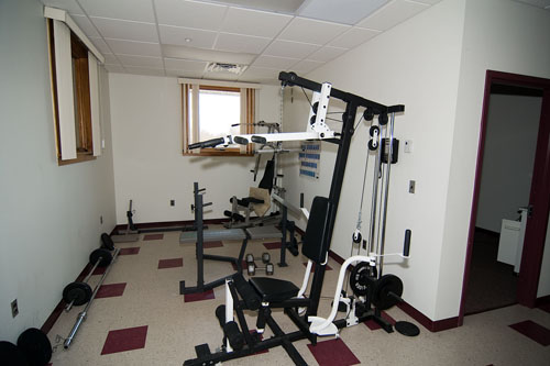 Exercise room at Substation 291