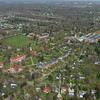 Aerial view of WRA's campus