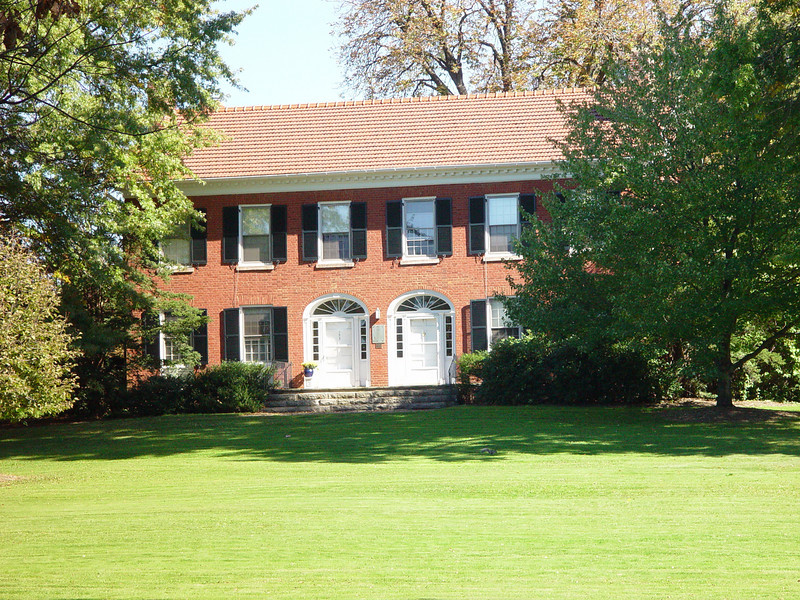 The President's House, a faculty residence