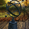 A sundial found on campus
