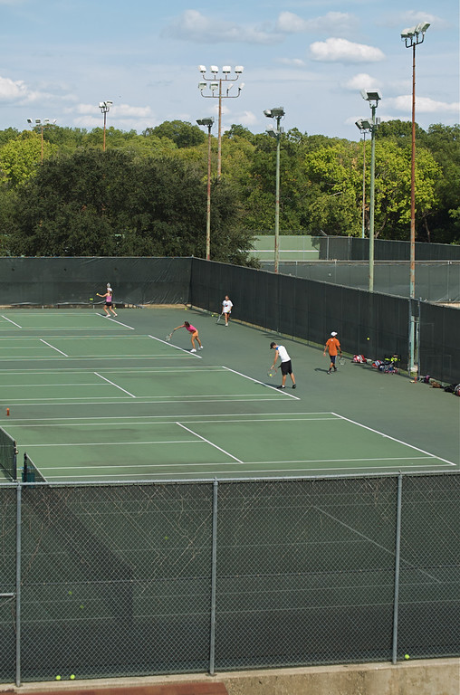 Tennis Courts Old