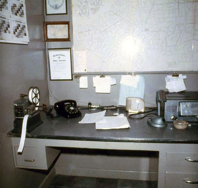 Station 6 in 1970s. Matt White photo.