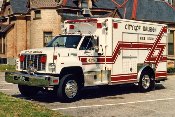 New Rescue 6, 1992. Jeff Harkey photo.