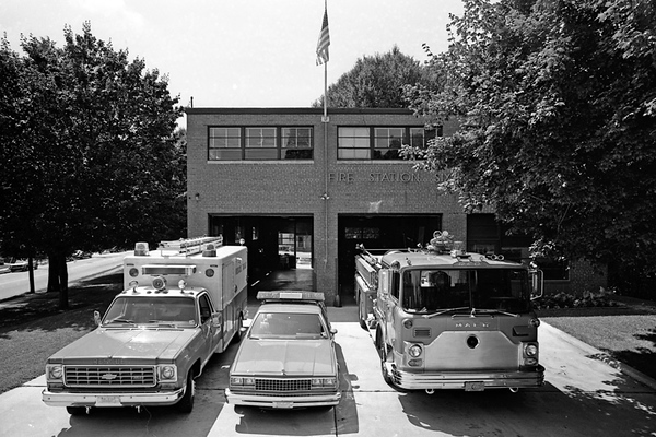 Station 6 in 1984. Gary Knight photo.