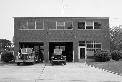 Station 6 circa 1950. North Carolina State Archives photo.