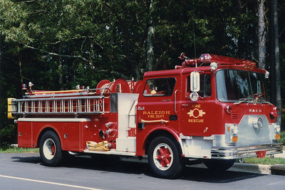Engine 6 in the early 1990s. Jeff Harkey photo.