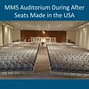 Auditorium at Memorial Middle School, before summer construction. Courtesy Photo