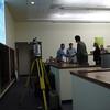 Brandon Rattiner, Denver Metro Area Regional Director for Senator Mark Udall visits UNAVCO. 26 April 2013.<br /> Pictured: Chris Crosby, Scott Baker, Brandon Rattiner, Linda Rowan, David Phillips