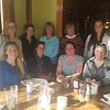 Ladies Welcome Baby! luncheon for Summer Rhoades and Megan Turner at Turley's Kitchen in Boulder. Left to right: (back) Libby Potter, Tori Repetti, Judy Donato, Carol Dietsfield, Kelsey Russo-NIxon, (front) Summer Rhoades, Marianne Okal, Megan Turner, Melissa Weber. December 2016.