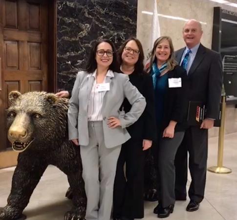 Nikki Gardepe (CC); Mindy Wilmot (BC); Cammie Ehret-Stevens (DO); Vice Chancellor, Educational Services John Means