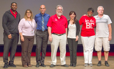 The Completion Coaching Team for the Business Pathway receives a 2019 President's Leadership Award.