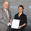 Dolphin Award for Outstanding Scholarly Achievement by a Member of the Full-Time Faculty:<br /> Christina Tortora, Professor, Department of English<br /> <br /> You joined the English faculty at the College of Staten Island in 2002 and you are also a member of the Doctoral faculty at The Graduate Center, CUNY. You received a BA in Linguistics from The State University of New York at Stony Brook, and an MA and PhD in Linguistics from the University of Delaware. Your diverse and wide-ranging research on comparative Romance Languages, non-standard English and Italian dialects, and linguistic theory continue to break new ground, and have earned you a much-deserved status of being a highly sought-after expert in those fields. You have also made considerable contributions to your field through prolific writings in journals, books chapters, edited volumes, and a much-awaited monograph, as well as through an impressive number of conference publications and invited talks. You, and three of your colleagues, have also received a National Science Foundation research grant for a trail-blazing comparative morpho-syntax of Appalachian English, which has placed CUNY in a leadership position in computational endeavors in linguistics. Beyond your extraordinary research, you are an excellent teacher, and you have performed crucial administrative work, having served as Deputy Chair of the English Department and currently as a member of the Executive Committee of the Linguistics Program at The Graduate Center/CUNY, as well as making significant contributions to the creation of the Strategic Plan's Strategic Direction 5.<br /> <br /> You exemplify CSI's ideal of an academic and teacher who shines in the field and advances the noble cause of knowledge.