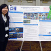 Dolphin Award for Outstanding Service and Contribution to the College by a Currently Enrolled Student:<br /> Elizabeth Che<br /> <br /> Elizabeth, seen here from a poster presentation from the 2012 Undergraduate Conference on Research and Performance, is currently advancing her academic experience through a study abroad program in Japan and was unable to attend the award ceremony.<br /> <br /> Elizabeth is a senior Psychology major in the Macaulay Honors College with a 3.76 GPA. As a student, she has been a research assistant to Professor Abdeslem El Idrissi, characterizing Ataxia Footprints in Fragile-X Mice, and is currently a research assistant to Professor Irina Sekerina, working on enhancing cognitive flexibility through aesthetic experiences. The latter research has been recognized at the 2012 National Collegiate Honors Council as the Best Poster in its category. Beyond her academic excellence, she has also endeavored to make the College a better place for students as an active member of Student Government since 2011, serving in a number of key roles, and working to solve a number of issues that our students faced. She is also a student representative to the College Council, and has been a member of the Faculty Student Disciplinary Committee, a student representative/alternate on the General Education Committee, and a student facilitator and guide for the Middle States representatives who visited our campus during the College's last review. In addition, she has worked to expand our understanding of the world with her participation with the Center for International Service, as well as the Japanese Visual Cultural Club, which she founded, and where she serves as President.<br /> <br /> We expect her to continue to shape the future of our world, as she has shaped the future of CSI, improving the lives of its citizens.