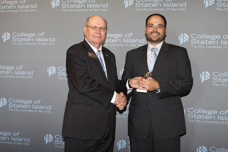 Dolphin Award for Outstanding Service and Contribution to the College by a Member of the Non-Teaching Instructional Staff in the HEO Title: Vito Zajda, Deputy Registrar in the Office of the Registrar