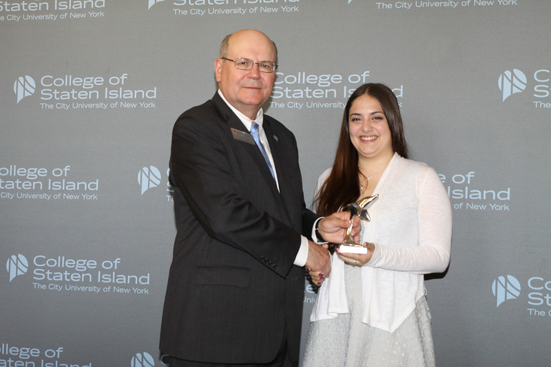 Dolphin Award for Outstanding Service and Contribution to the College by a Currently Enrolled Student: Jesse Rodriguez