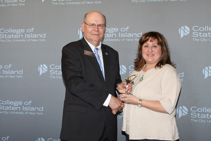 Dolphin Award for Outstanding Service and Contribution to the College by a Member of the Part-Time, Non-Teaching Staff: Joyce Adorno, Admissions Advisor, Recruiter, Office of Recruitment and Admissions