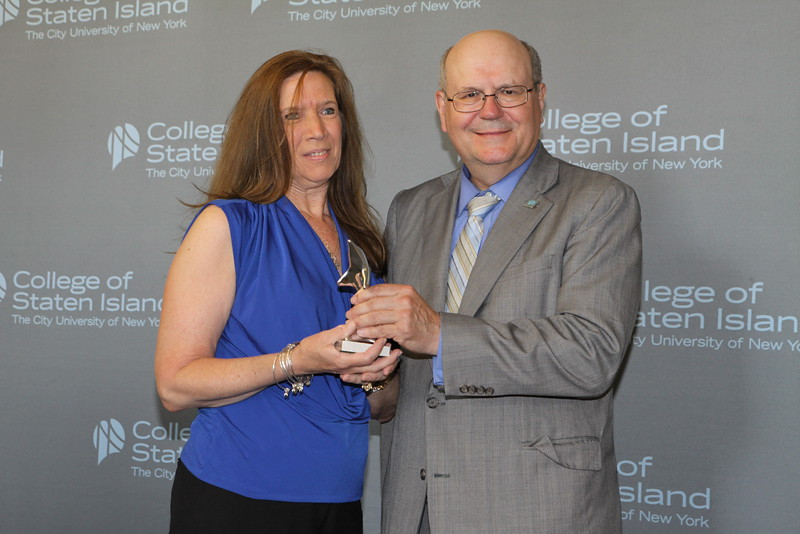 Outstanding Service and Contribution to the College by a Member of the Part-Time, Non-Teaching Staff: Donna Sipp, College Assistant, Office of the Registrar