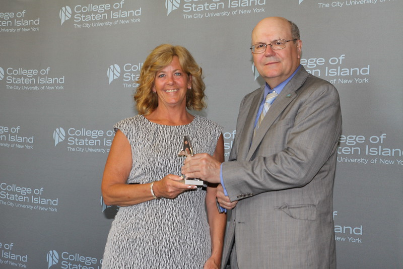 Outstanding Service and Contribution to the College by a Member of the Non-Teaching Instructional Staff in the HEO Title: Lillian McGinn, Campus New Facilities Officer, Finance and Administration